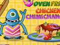 Oven Fried Chicken Chimic Changas