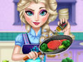 Elsa Real Cooking