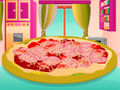 Make Salami Pizza
