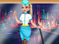 Elsa Stewardess Fashion