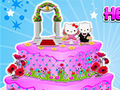 Hello Kitty Wedding Cake